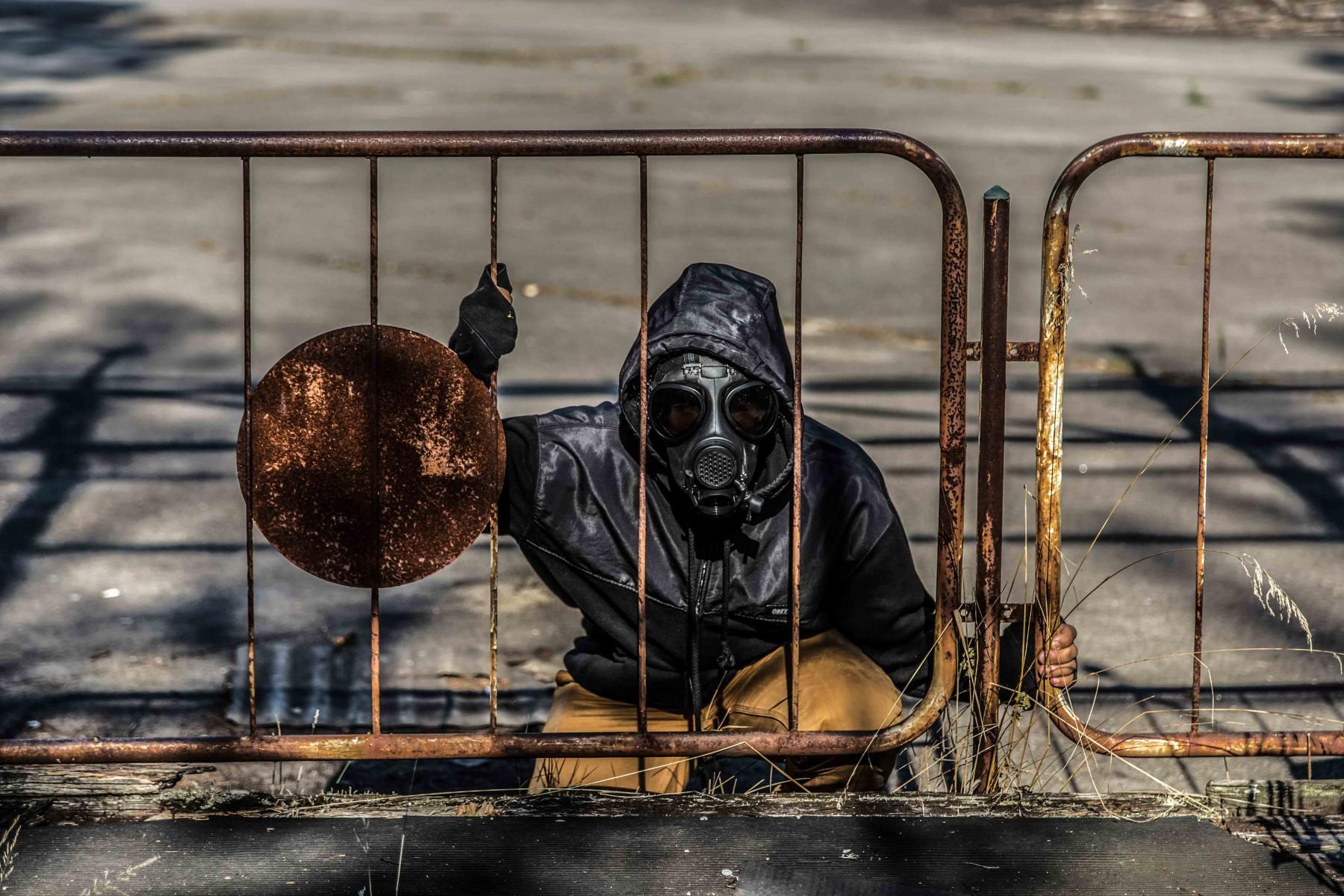 Çernobil Nükleer Santrali Yangın